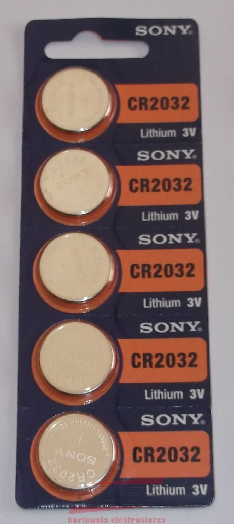 Sony Bateria CR2032 5szt. 1