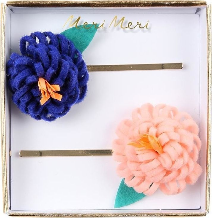 Meri Meri Wsuwki Flower Posy Hair Slides 2szt. 1