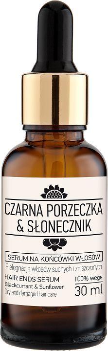 Laboratorium NOVA Serum na końcówki włosów Czarna porzeczka Słonecznik 30 ml 1