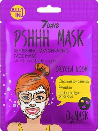 Vilenta Odświeżająca Maska Do Twarzy Oxygen Boom Z Miętą 25G 1