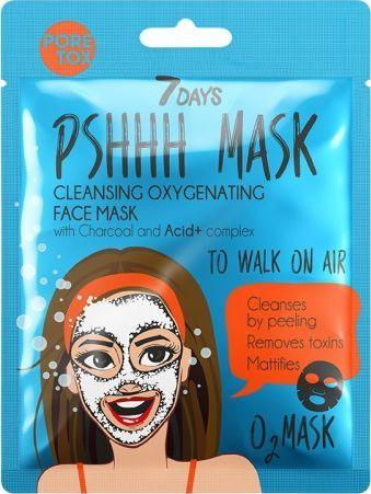 Vilenta Oczyszczająca Maska Do Twarzy To Walk On Air Z Węglem Drzewnym 25G 1