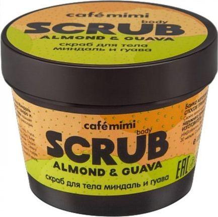 Cafe Mimi Peeling do ciała Scrub - Migdał i Guawa 120g 1