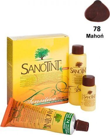 Sanotint Farba Do Włosów Mahogany Mahoń 78 Sensitive  1