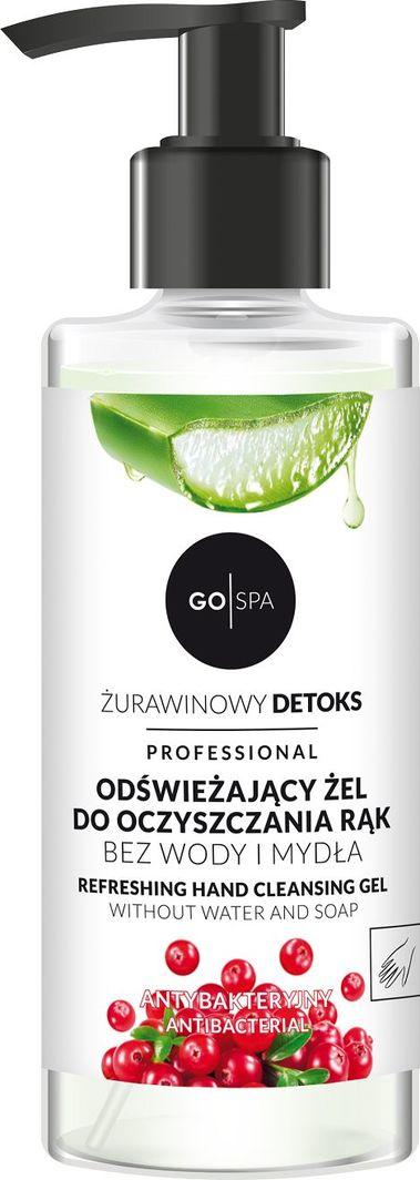 NOVA KOSMETYKI Odświeżający żel do oczyszczania rąk GoSPA 250 ml 1