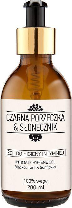Laboratorium NOVA Żel do higieny intymnej Czarna porzeczka&Słonecznik 200 ml 1
