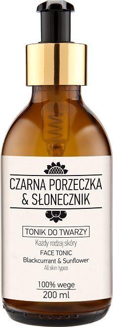 Laboratorium NOVA Tonik do twarzy Czarna porzeczka&Słonecznik 200 ml 1