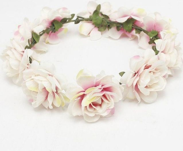 Kemer Wianek opaska wianuszek kwiaty bogaty W81B uniwersalny 1