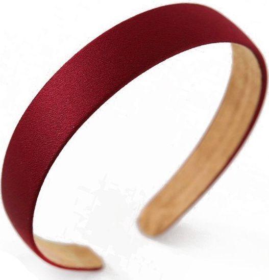 Kemer Opaska turban prosta velvet czerwień O222CZE uniwersalny 1