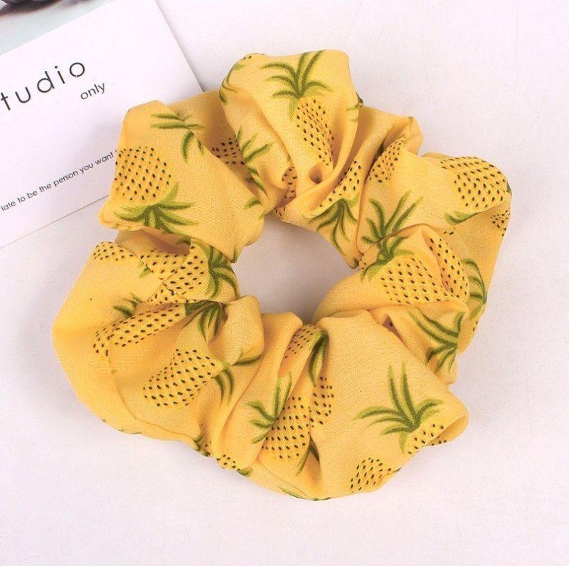 Kemer Gumka do włosów apaszka ananasy PIN UP GUM41WZ2 uniwersalny 1