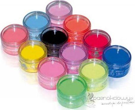 Bass Cosmetics Proszki akrylowe kolorowe pastelowe 7 ml - Bass 1