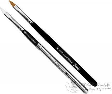 Bass Cosmetics Pędzel Classic do modelowania żelu składany Synthetic #6 konus - Bass 1