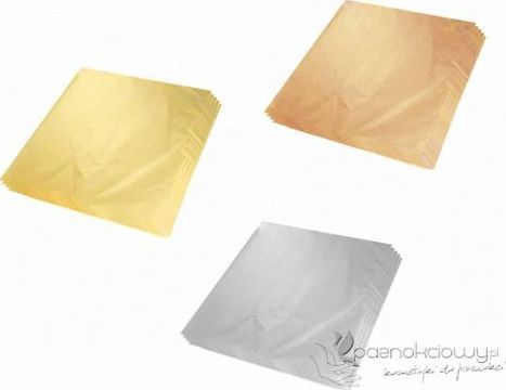 Bass Cosmetics Folia w płatkach (3x4 cm) - Bass 1
