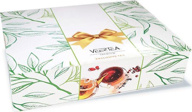 VEERTEA PREMIUM kolekcja herbat 160 szt. opakowanie prezentowe 1