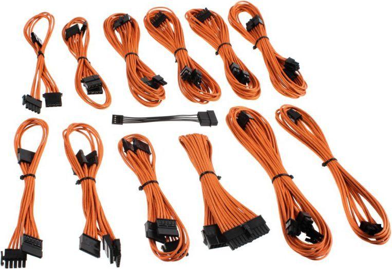 CableMod CM-Series V/VS, zestaw kabli komputerowych, pomarańczowy 1