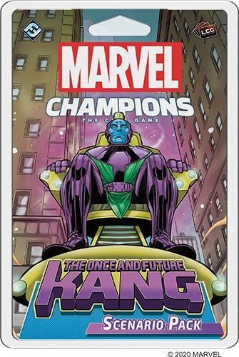 Fantasy Flight Games Marvel Champions: The Once and Future Kang Scenario Pack 1