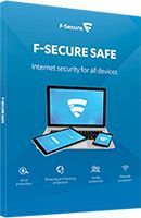 F-Secure SAFE (1 rok 5 PC) (FCFXBR1N005E1) 1
