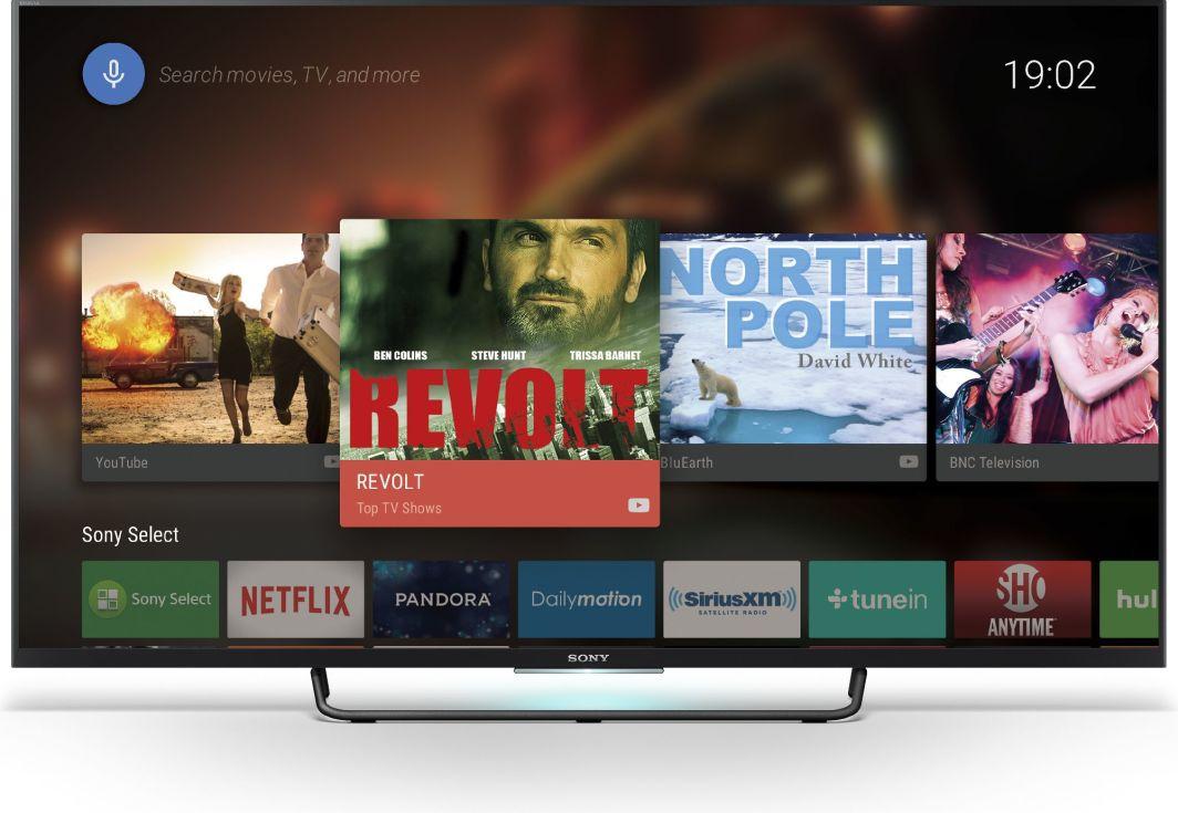 Telewizor Sony LED 55'' Full HD Android  1