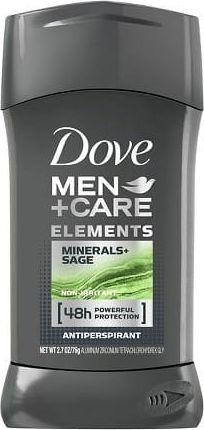 Dove  Men+ Care, Mineral & Sage, Antyperspirant w sztyfcie, 40 ml 1