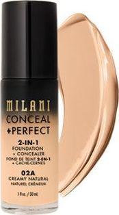 Milani Perfect 2w1 Podkład do twarzy Creamy Natural 30 ml 1