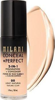 Milani Perfect 2w1 Podkład do twarzy Light Natural 30 ml 1