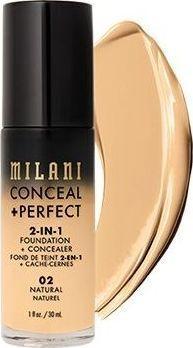 Milani Perfect 2w1 Podkład do twarzy Natural 30 ml 1