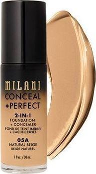 Milani Perfect 2w1 Podkład do twarzy Natural Beige 30 ml 1