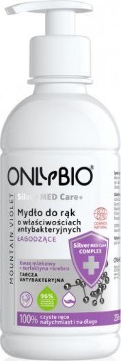 Only Bio Onlybio Silver Med Care+ łagodzące mydło do rąk  1