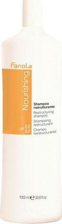 Fanola Nourishing Restructuring Shampoo szampon do włosów suchych i łamliwych 1000ml 1