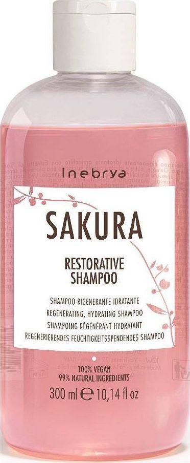Inebrya Sakura wzmacniający szampon do włosów 300ml 1