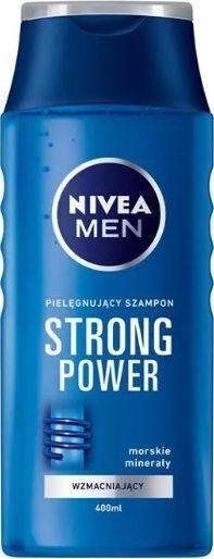 Nivea Strong Power wzmacniający szampon do włosów 400ml 1