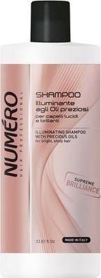 Numero Brelil Hair Professional Beauty Macassar Oil Shampoo Szampon do włosów z olejem Macassar i keratyną 1000ml 1