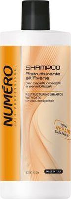 Numero Restructuring Shampoo With Oats restrukturyzujący szampon z owsem 1000ml 1