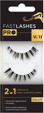 Auri AURI_Fast Lashes Pro rzęsy samoprzylepne 2w1 Chloe 1 para 1