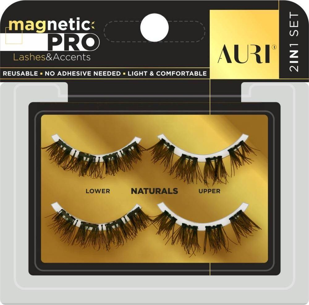 Auri AURI_Magnetic Pro rzęsy magnetyczne Naturals 2 pary 1