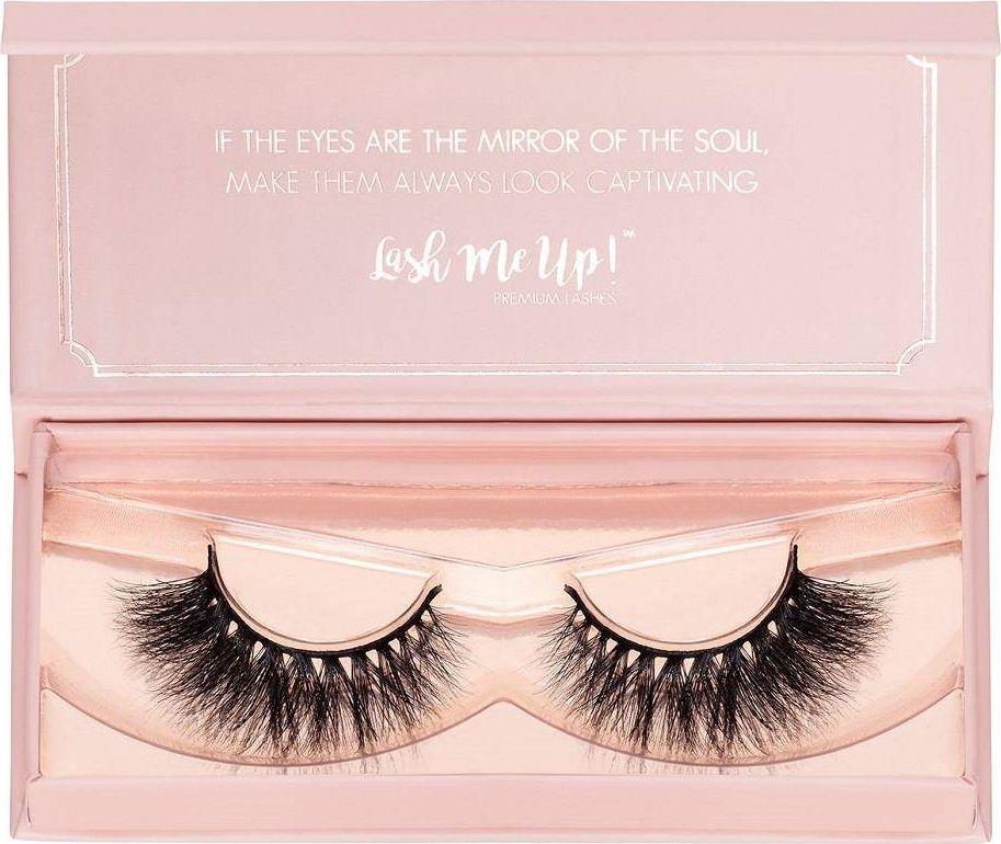 Lash Me Up! LASH ME UP!_False Eyelashes sztuczne rzęsy na pasku Kiss Me 1 para 1