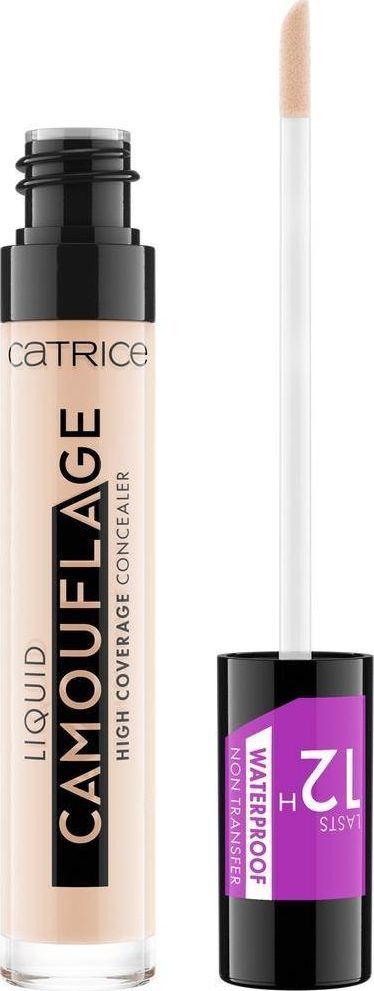 Catrice Liquid Camouflage High Coverage Concealer korektor w płynie, 001 Fair Ivory 5ml 1