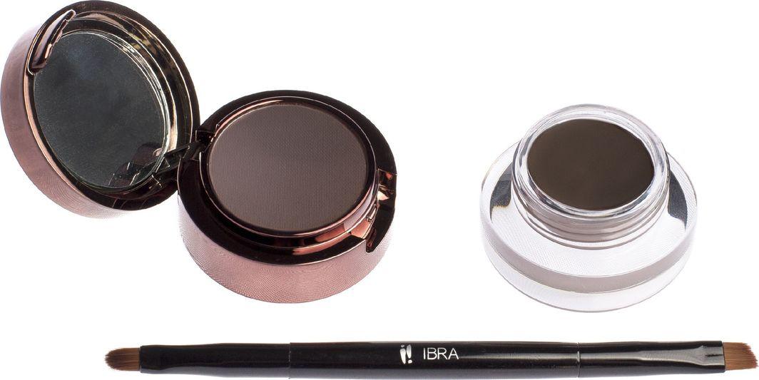 Ibra IBRA_Pomada i cień do brwi Brown 7g 1
