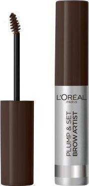 L'Oreal Paris L'OREAL_Brow Artist Plump & Set tusz do brwi 108 Dark Brunette 4,9ml 1