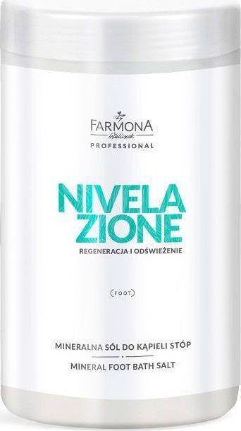 Farmona FARMONA PROFESSIONAL_Nivelazione Mineral Foot Bath Salt mineralna sól do kąpieli stóp 1500g 1