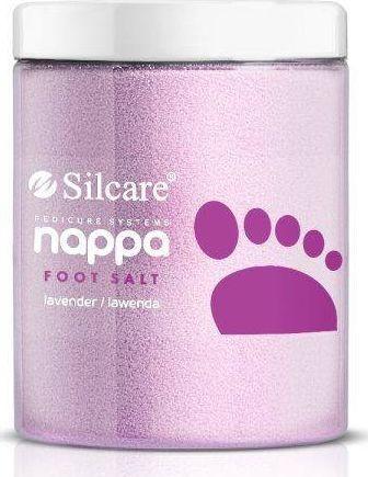Silcare Nappa Salt sól do stóp Lawenda, 1250g 1