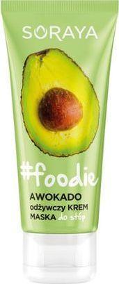 Soraya Foodie odżywczy krem-maska do stóp Awokado 75ml 1