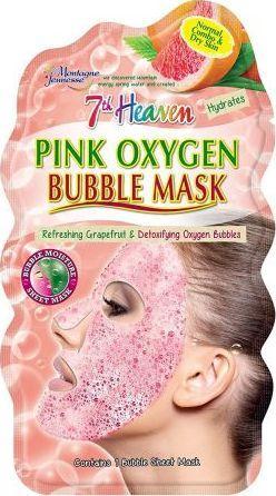7-th Heaven Pink Oxygen maseczka bąbelkowa 1
