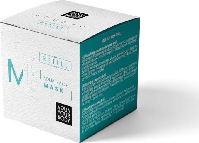 Aquayo Aqua Face Mask nawadniająca maseczka Refill 50 ml 1