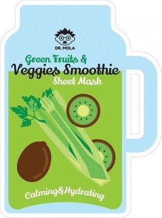 Mola Green Fruits & Veggies smoothie maseczka  1