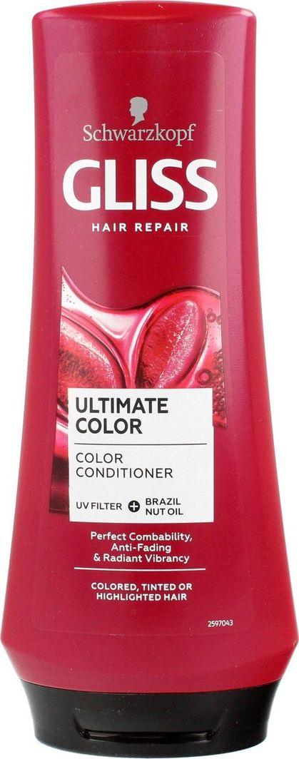 Gliss Kur Ultimate Color Conditioner Odżywka Do Włosów Farbowanych Tonowanych i Rozjaśnianych 200 ml 1