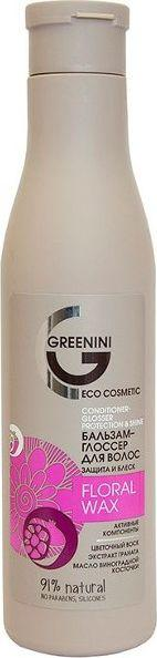 Greenini Floral Wax Condioner Odżywka Do Włosów Ochrona i Połysk 250 ml 1