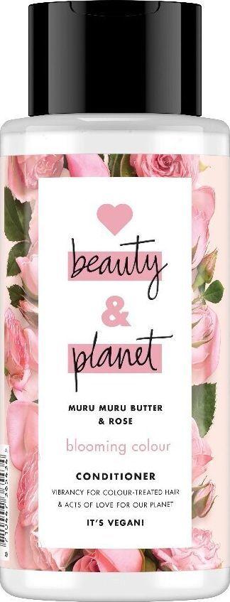 Love Beauty and Planet Odżywka do Włosów Farbowanych Masło Muru Muru i  Olejek Różany 400 ml 1