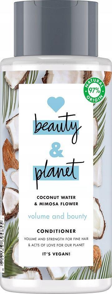 Love Beauty and Planet Odżywka do Włosów Nadająca Objętość 400 ml 1