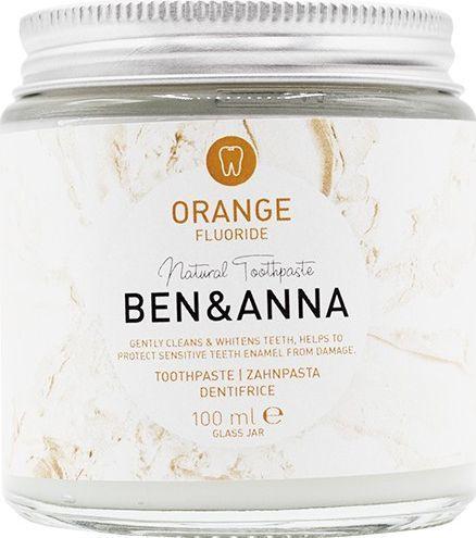Ben&Anna Natural Toothpaste naturalna pasta do wrażliwych zębów z fluorem Orange 100ml 1