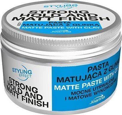 Joanna Styling Effect Matte Paste With Clay pasta matująca do włosów z glinką 100g 1
